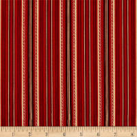 Stone Cottage Arbor Stripe Red