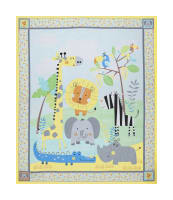 "Jungle Jamboree Jungle 36"" Panel Multi"