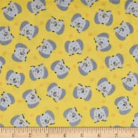 Jungle Jamboree Baby Elephants Yellow