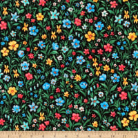 Kaufman London Calling Lawn Multi Flowers