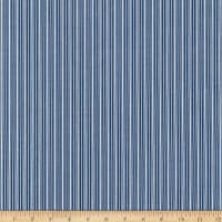 Kaufman Sevenberry Micro Classics Denim Stripes