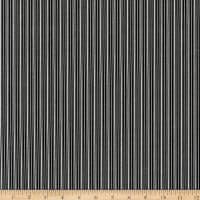 Kaufman Sevenberry Micro Classics Black Stripes