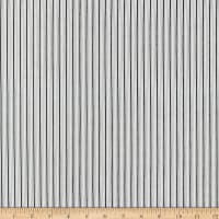 Kaufman Sevenberry Micro Classics Grey Stripes