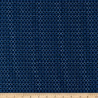 Kaufman Sevenberry Micro Classics Blue Hexagon