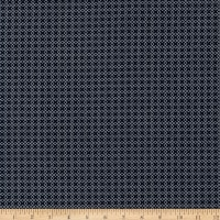 Kaufman Sevenberry Micro Classics Navy Square