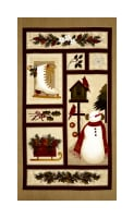 "Winter Wonderland Winter Wonderland 24"" Panel NatMult"
