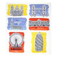 "From London with Love Sites 35"" Panel Multi"