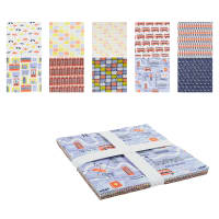 "From London with Love 10"" Squares 42 Pcs Multi"