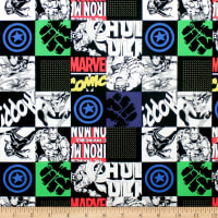 Marvel Avengers Unite Hero Blocks Black