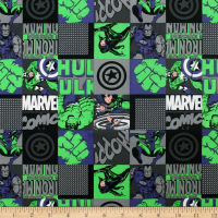 Marvel Avengers Unite Hero Blocks Green