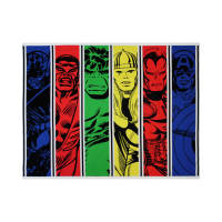 "Marvel Avengers Unite Team Up 36"" Panel Multi"