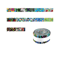 "Marvel Retro 2.5"" Strips 40 Pcs Multi"