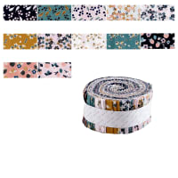 "Berry Blossom 2 1/2"" Strips 40 Pcs Multi"