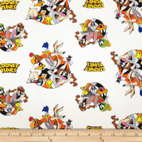 Looney Tunes That'S All Folks! White