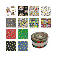 "Looney Tunes 2 1/2"" Strips 40 Pcs."