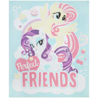"Hasbro My Little Pony Perfect Friends 36"" Panel Multi"