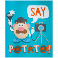 "Hasbro Mr Potato 36"" Panel Multi"