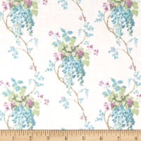 Laura Ashley Wisteria Blooms Blue