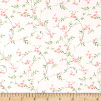 Laura Ashley Wisteria Swirly Blossom Pink