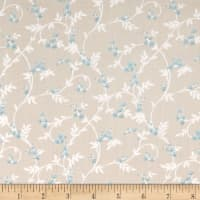 Laura Ashley Wisteria Swirly Blossom Beige