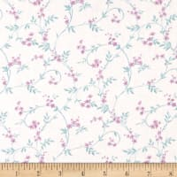 Laura Ashley Wisteria Swirly Blossom Blue
