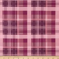 Laura Ashley Wisteria Plaid  Purple