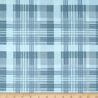 Laura Ashley Wisteria Plaid  Blue