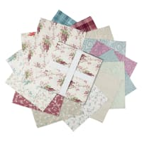 "Laura Ashley Wisteria 10"" Squares 42 Pcs Multi"