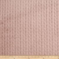 Richloom Home Faux Fur Dainty Blush
