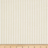 Riley Blake Tone on Tone Stripe Cream