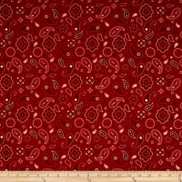 Penny Rose American Heritage American Bandana Red