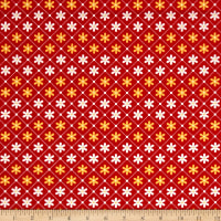 Penny Rose Sunnyside Daisies Red