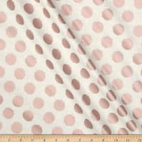Riley Blake Blush Metallic Dot Saprkle Cream