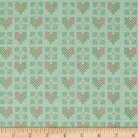 Riley Blake Grandale Stitches Mint