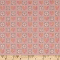 Riley Blake Grandale Stitches Pink