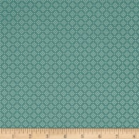 Riley Blake Grandale Dot Teal