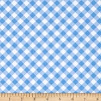 Riley Blake Patriotic Gingham Light Blue