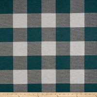 Artistry Buffalo Check Jacquard Dark Turquoise