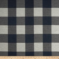 Buffalo Check Jacquard Navy/White
