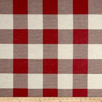 Buffalo Check Jacquard Red/White