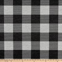 Buffalo Check Jacquard Black/White