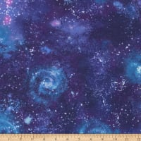 Kaufman Laguna Jersey Knit Prints Astral Space Galaxy