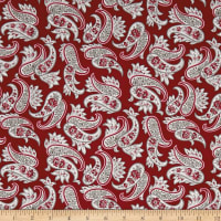 Penny Rose Rustic Romance Rustic Paisley Red