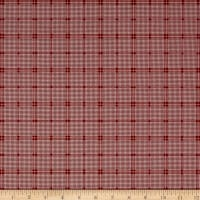 Penny Rose Rustic Romance Rustic Plaid Red