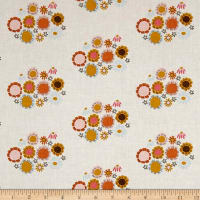 Riley Blake Guinevere Flower Cream