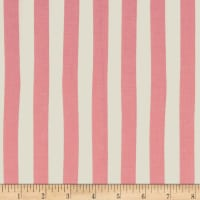 Riley Blake Love Story Love Stripes Pink