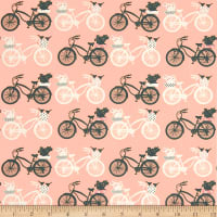 Art Gallery Printemps Fusion Fietsen Pink/Green