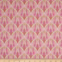 Art Gallery Indigo & Art Courbe' Ikat Rose
