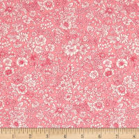 Liberty Fabrics The English Garden Emily Silhouette W Pink