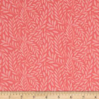 Liberty Fabrics The English Garden Leaf Trail X Pink